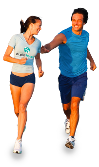 跑步人PNG图像