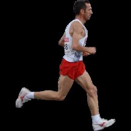 赛跑的男人PNG图像