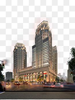 繁华城市商业购物中心图片