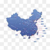 中国地图版图