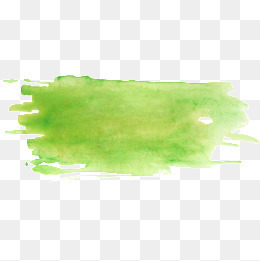 绿色水彩效果