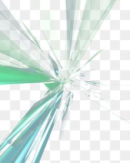 抽象炫彩图案 放射光线
