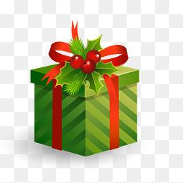 圣诞礼盒矢量图