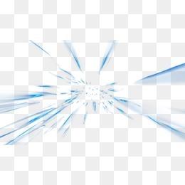 科技圖片抽象  藍色炫酷放射狀