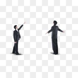 两个商务人