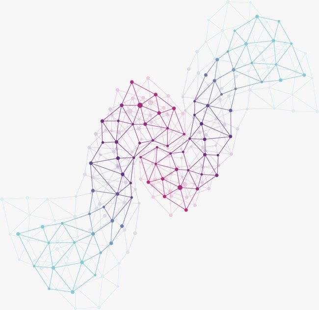蓝色科技线条背景矢量素材,来自爱设计http://www.asj.com.cn