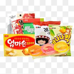 韩国零食组合