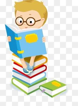 看书的学生