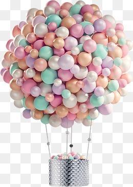 气球热气球实物