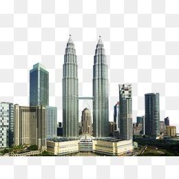 双子塔建筑群