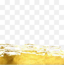 水墨与金色质感背景